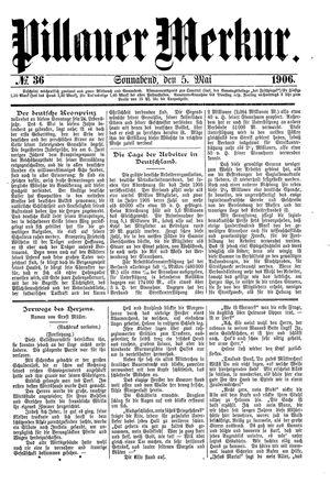 Pillauer Merkur vom 05.05.1906