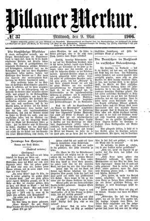 Pillauer Merkur vom 09.05.1906