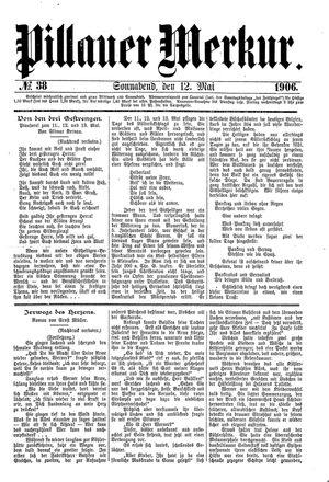 Pillauer Merkur vom 12.05.1906
