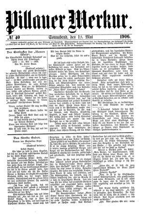 Pillauer Merkur vom 19.05.1906