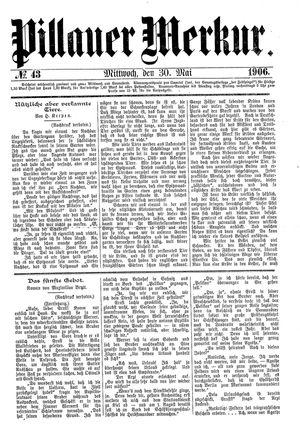 Pillauer Merkur on May 30, 1906