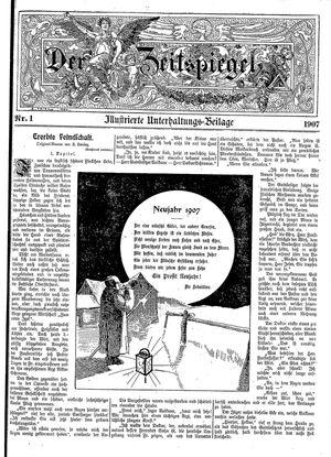 Pillauer Merkur vom 06.01.1907