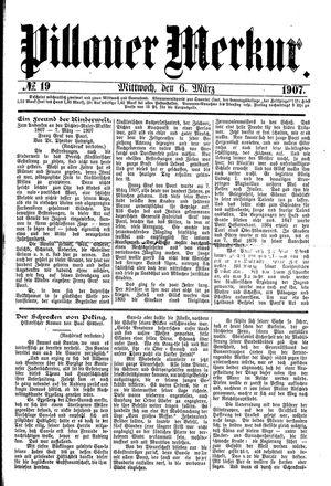 Pillauer Merkur vom 06.03.1907