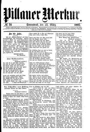 Pillauer Merkur vom 23.03.1907