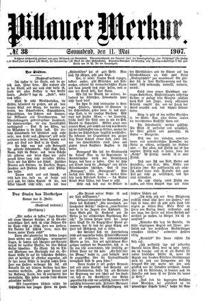 Pillauer Merkur vom 11.05.1907