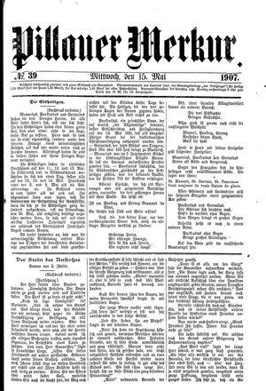 Pillauer Merkur vom 15.05.1907