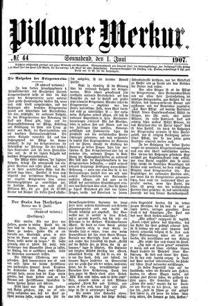 Pillauer Merkur vom 01.06.1907