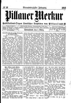 Pillauer Merkur vom 01.03.1913