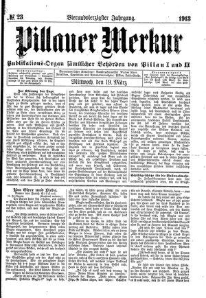 Pillauer Merkur on Mar 19, 1913