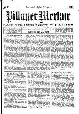 Pillauer Merkur on Apr 23, 1913