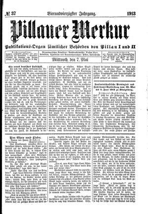 Pillauer Merkur on May 7, 1913