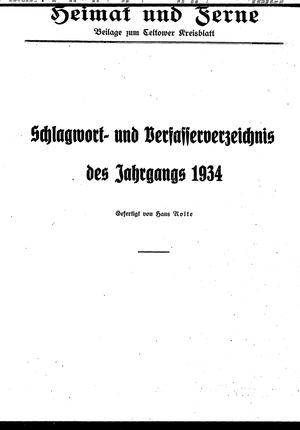 Heimat und Ferne vom 04.02.1935
