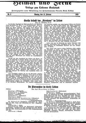 Heimat und Ferne vom 18.02.1935