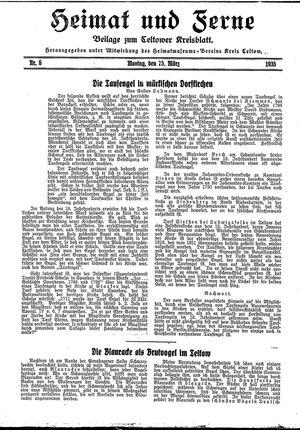 Heimat und Ferne vom 25.03.1935