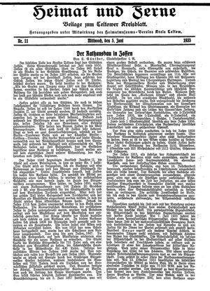 Heimat und Ferne vom 05.06.1935