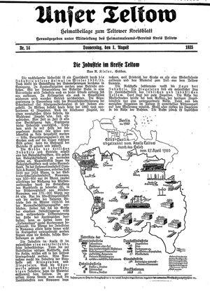 Unser Teltow vom 01.08.1935