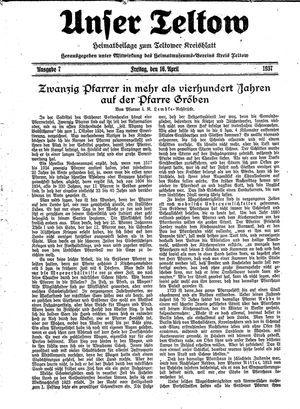 Unser Teltow vom 16.04.1937