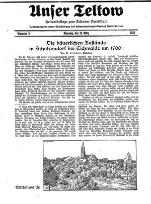 Unser Teltow vom 15.03.1938