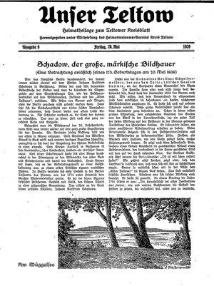 Unser Teltow vom 26.05.1939