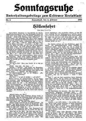 Sonntagsruhe vom 04.02.1933
