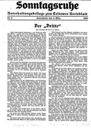 Sonntagsruhe vom 04.03.1933
