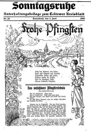 Sonntagsruhe vom 03.06.1933