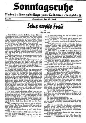 Sonntagsruhe on Jun 10, 1933