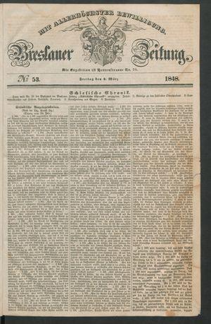 Breslauer Zeitung vom 03.03.1848