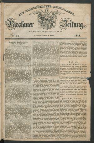 Breslauer Zeitung vom 04.03.1848
