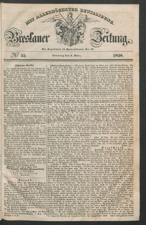 Breslauer Zeitung vom 05.03.1848