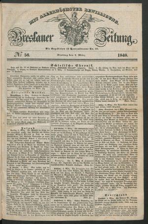 Breslauer Zeitung vom 07.03.1848