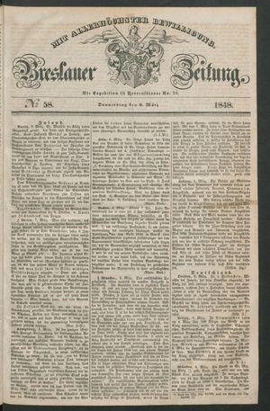 Breslauer Zeitung on Mar 9, 1848