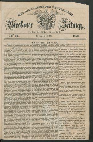 Breslauer Zeitung vom 10.03.1848