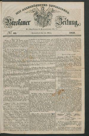 Breslauer Zeitung on Mar 11, 1848