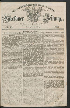 Breslauer Zeitung vom 14.03.1848