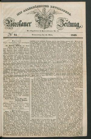 Breslauer Zeitung vom 16.03.1848