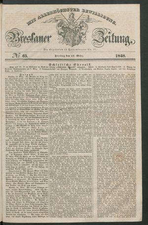 Breslauer Zeitung vom 17.03.1848