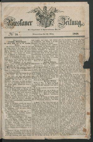 Breslauer Zeitung vom 23.03.1848