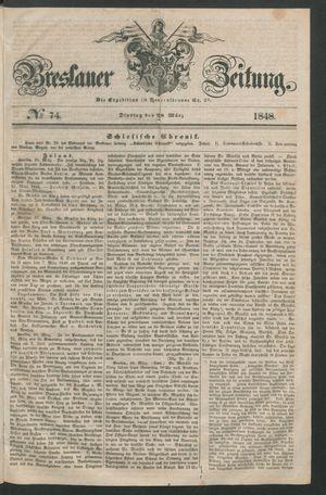 Breslauer Zeitung vom 28.03.1848