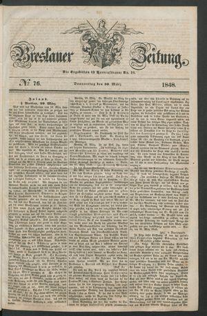 Breslauer Zeitung vom 30.03.1848