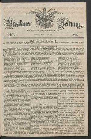 Breslauer Zeitung vom 31.03.1848