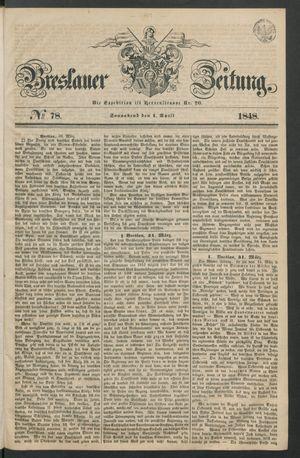 Breslauer Zeitung vom 01.04.1848