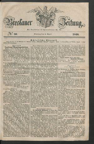 Breslauer Zeitung vom 04.04.1848