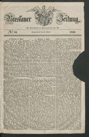 Breslauer Zeitung on Apr 8, 1848