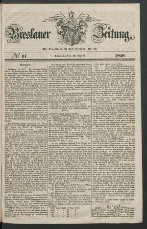 Breslauer Zeitung vom 16.04.1848