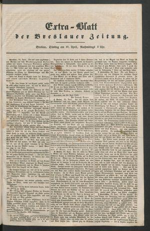 Breslauer Zeitung vom 25.04.1848