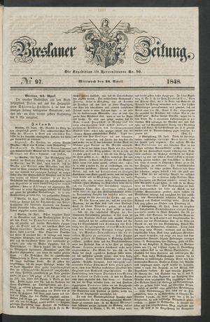 Breslauer Zeitung vom 26.04.1848