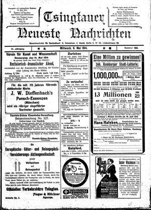 Tsingtauer neueste Nachrichten vom 06.05.1914