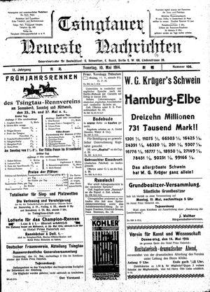 Tsingtauer neueste Nachrichten vom 10.05.1914