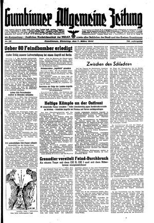 Gumbinner allgemeine Zeitung on Mar 7, 1944